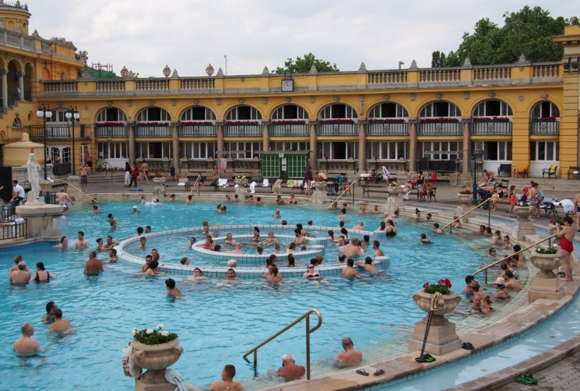 Budapest: Soaking Away at Széchenyi Baths | Days of Light